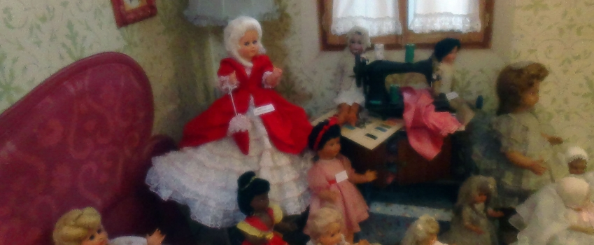 Santa Giuletta, il paese delle bambole